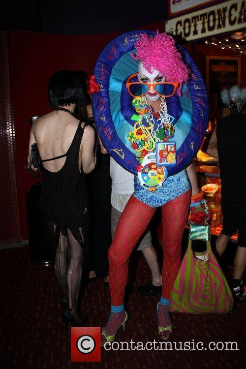 David LaChapelle party held at Carnival nightclub above...