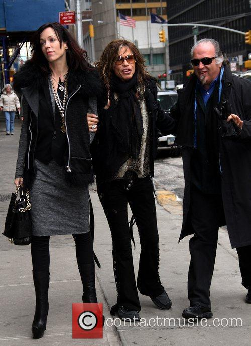 Liv Tyler, David Letterman, Ed Sullivan and Steven Tyler 4
