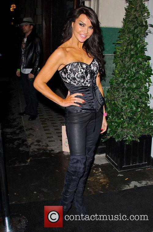 Lizzie Cundy David Van Day and Sue Moxley...