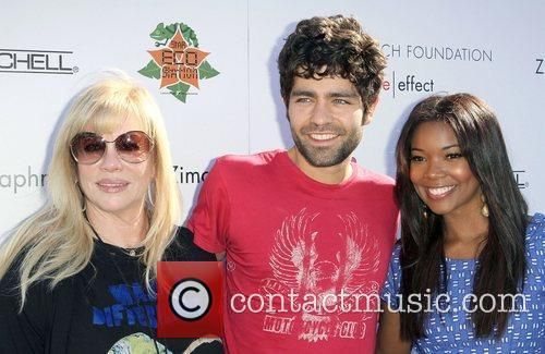 Adrian Grenier, Gabrielle Union and Uniting Nations 2