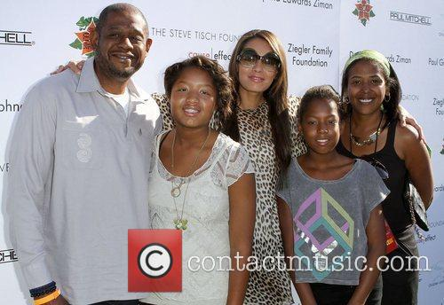 Forest Whitaker, Keisha Whitaker and Uniting Nations 1