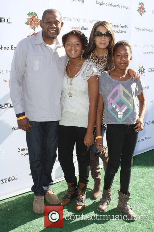 Forest Whitaker, Keisha Whitaker and Uniting Nations 2