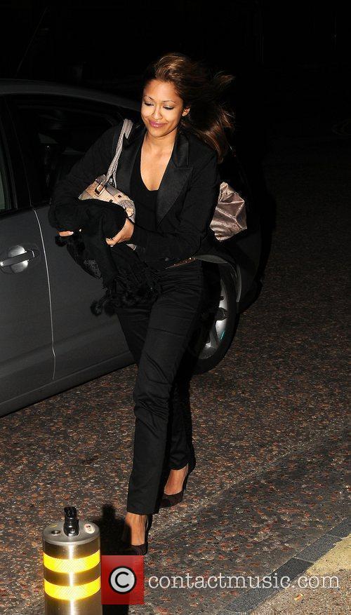 Tasmin Lucia Khan 'Daybreak' presenters arrive at the...