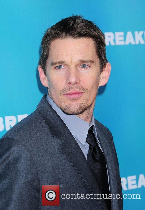 Ethan Hawke NYC Premiere of Daybreakers at the...