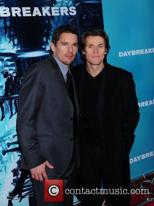 Willem Dafoe, Ethan Hawke NYC Premiere of Daybreakers...