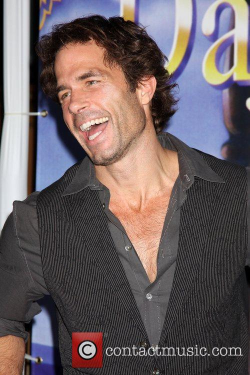 Shawn Christian arrives at the Days of Our...