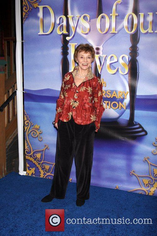 Peggy McKay arrives at the Days of Our...