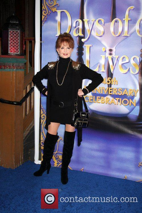 Suzanne Rogers arrives at the Days of Our...