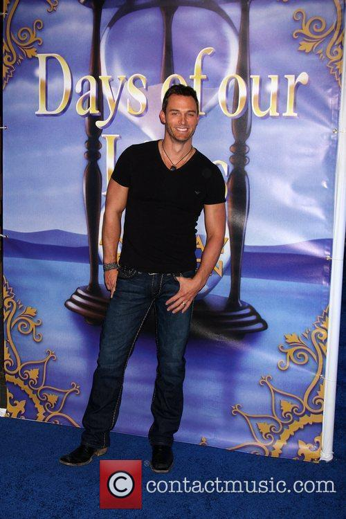 Eric Martsolf arrives at the Days of Our...