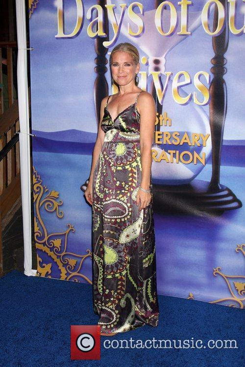 Melissa Reeves arrives at the Days of Our...