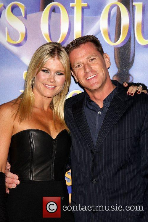 Alison Sweeney, husband arrives at the Days of...