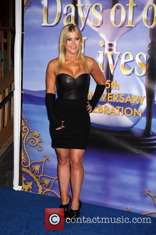 Alison Sweeney arrives at the Days of Our...