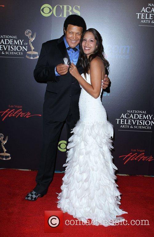 Chubby Checker, Christel Khalil 2010 Daytime Emmy Awards...