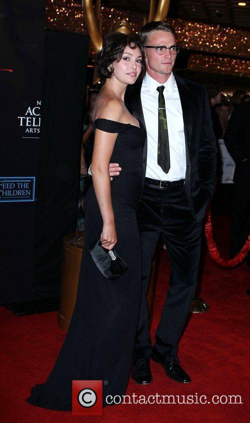 Emily O'Brien, Wilson Bethel 2010 Daytime Emmy Awards...