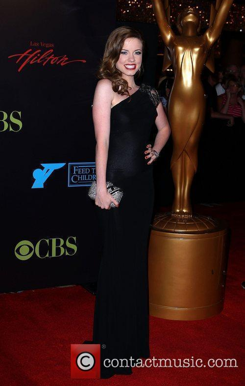 Molly Burnett 2010 Daytime Emmy Awards held at...