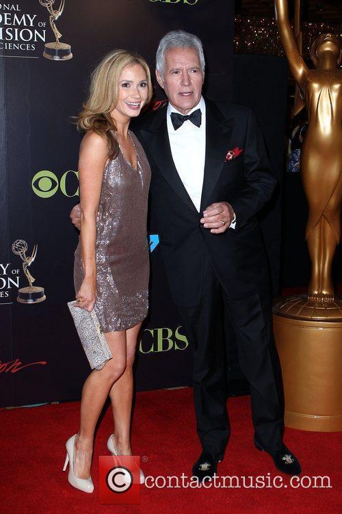 Ashley Jones, Alex Trabek 2010 Daytime Emmy Awards...