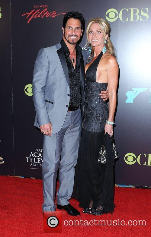 Don Diamont and wife 2010 Daytime Emmy Awards...