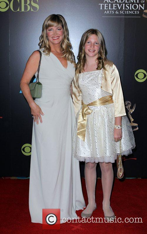 Maria Arena Bell and Daughter 2010 Daytime Emmy...
