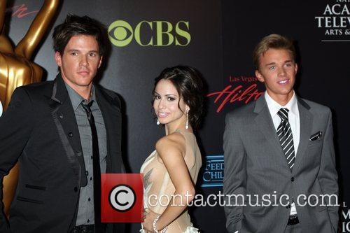 Gabriela Rodriguez and guests 2010 Daytime Emmy Awards...