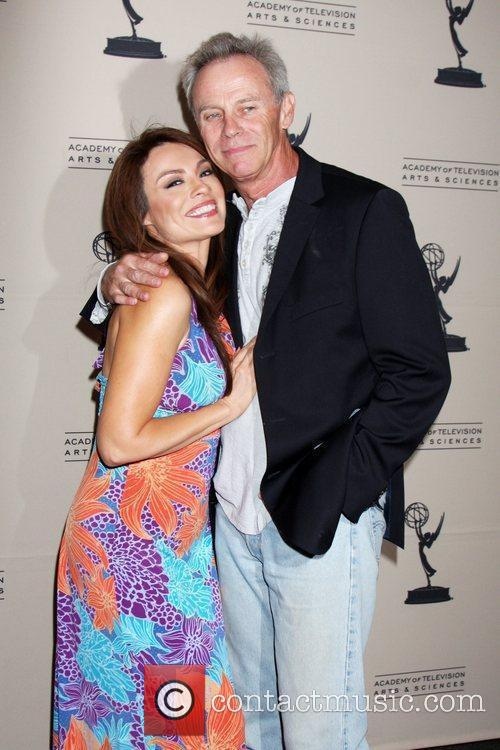 Lilly Melgar and Tristan Rogers  Daytime Emmy...