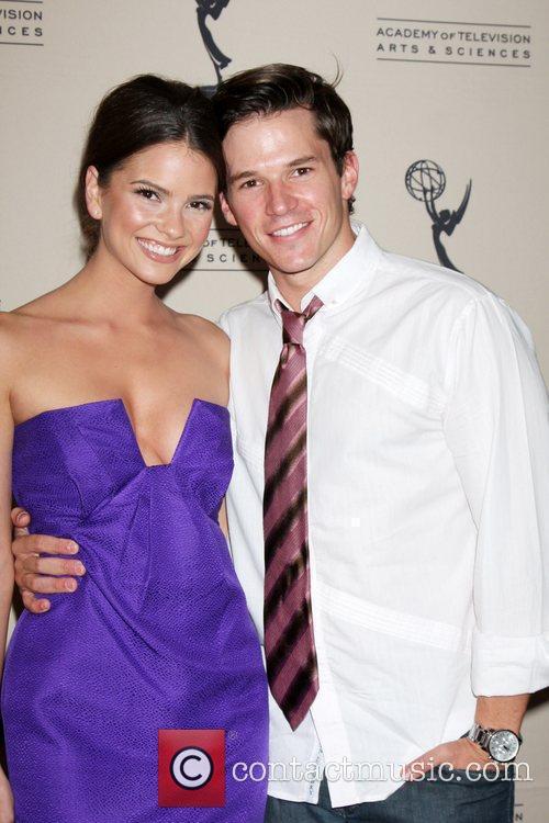Shelley Hennig and Mark Hapka  Daytime Emmy...