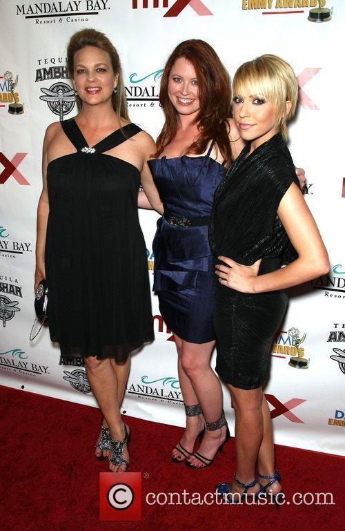 Leann Hunley, Melissa Archer and Farah Fath 4