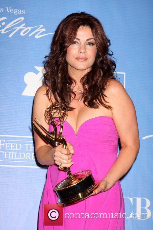 Julie Pinson 2010 Daytime Emmy Awards held at...