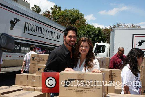 The 'Daytime Gives Back' Feed The Children Event...