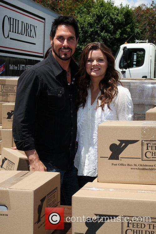 Don Diamont and Heather Tom The 'Daytime Gives...
