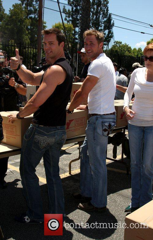 Eric Martsolf and Kyle Lowder The 'Daytime Gives...