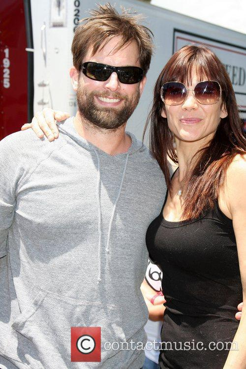 Michel Muhney, Stacy Haiduk The 'Daytime Gives Back'...