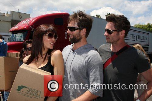 Stacy Haiduk, Michael Muhneya and Daniel Goddard The...