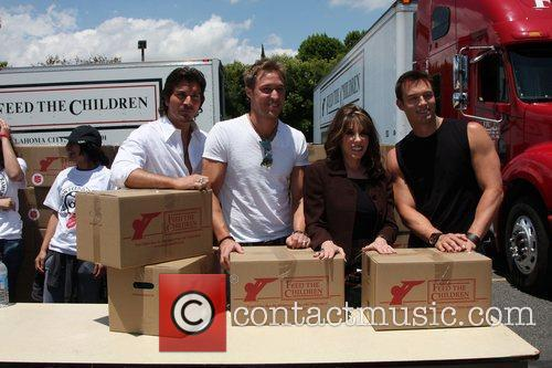 Victor Alfieri, Kyle Lowder, Kate Linder and Eric...