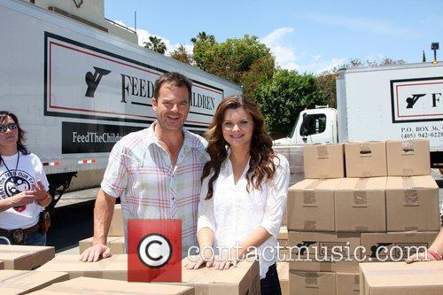 Wally Kurth and Heather Tom The 'Daytime Gives...