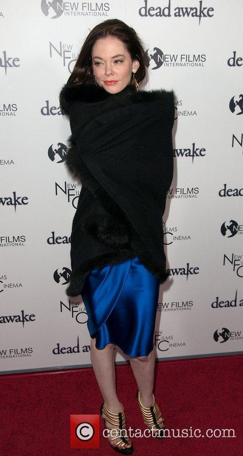 Rose McGowan at premiere of 'Dead Awake'