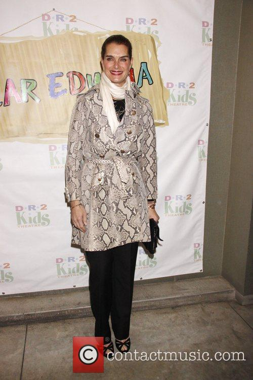 Brooke Shields The opening night of the musical...