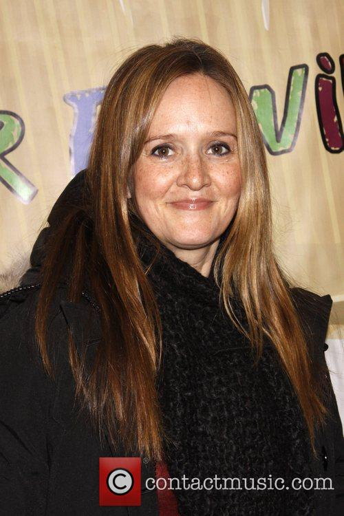 Samantha Bee The opening night of the musical...