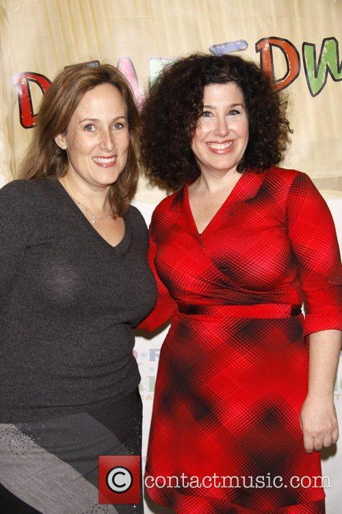 Zina Goldrich and Marcy Heisler The opening night...