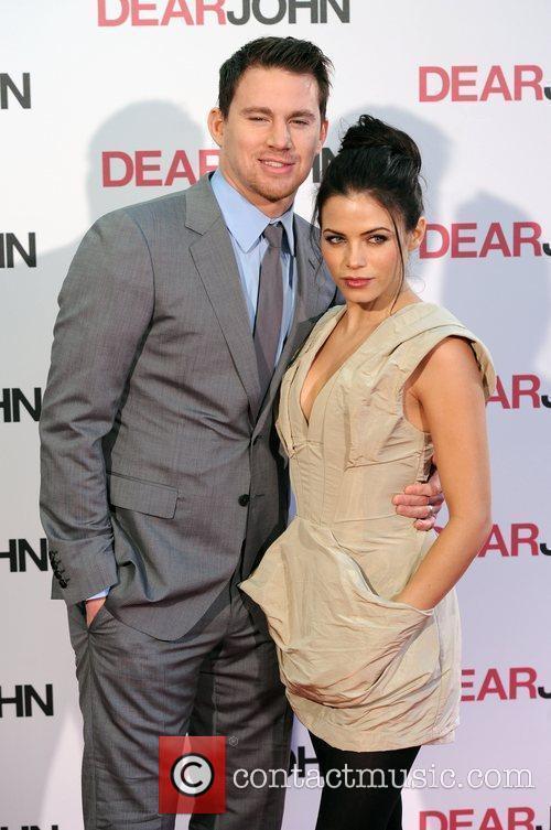 Channing Tatum and girlfriend Jenna Dewan Dear John...