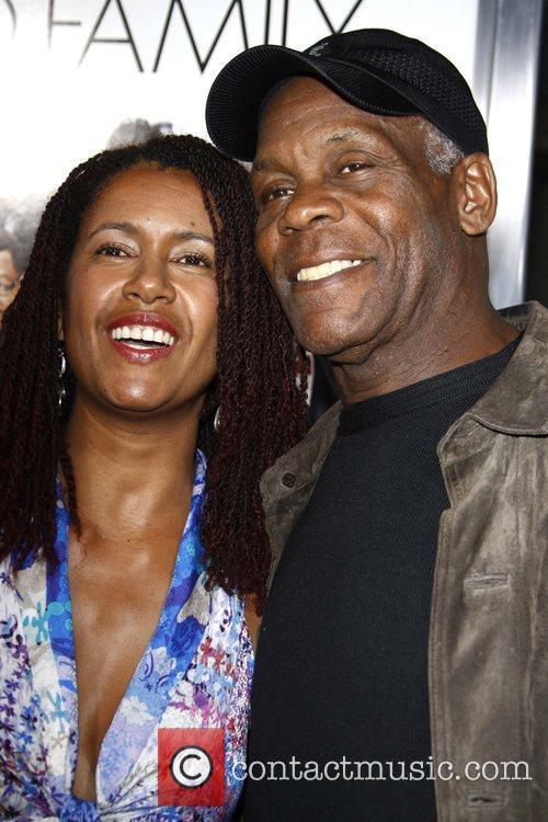 Danny Glover and His Wife 2