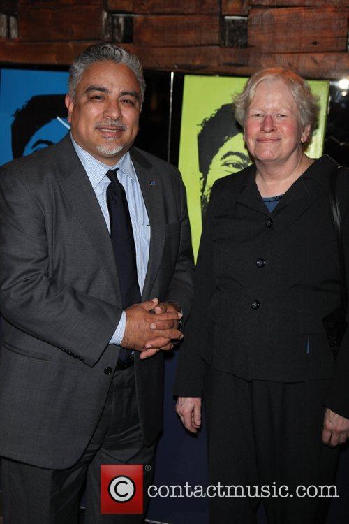 Luis Jimenez, Martha R. Gotwals, of Goodwill, dir...