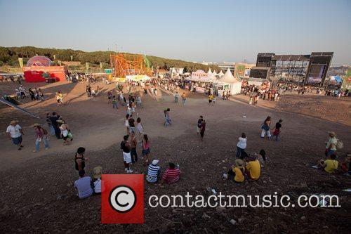 Atmosphere  Festival Delta Tejo in Lisboa -...