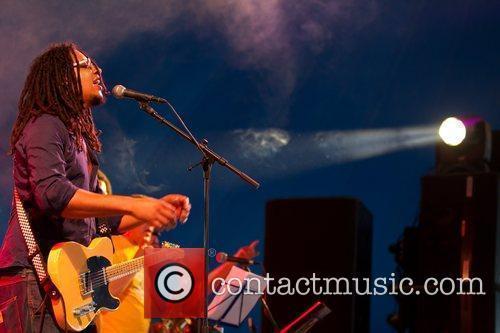 Cacique'97 performing live  Festival Delta Tejo in...