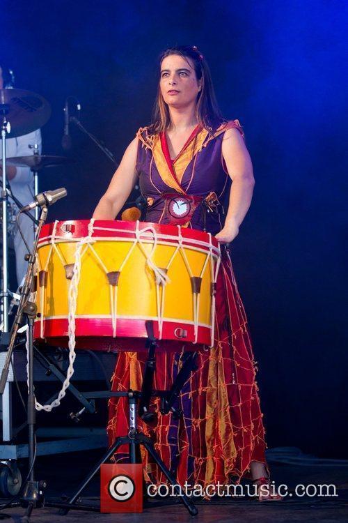 Claud performing live Festival Delta Tejo in Lisboa...