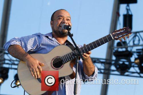 Paulo Flores performing live  Festival Delta Tejo...