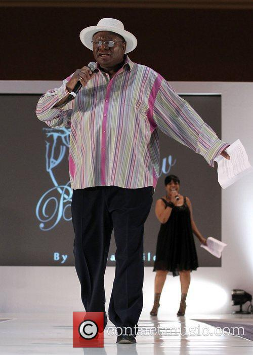 Attending the new plus-size denim line Big Luv...