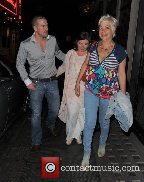 Denise Welch from TV show Loose Women, and...