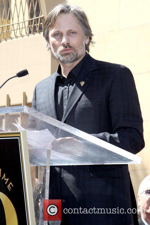 Viggo Mortensen, Star On The Hollywood Walk Of Fame