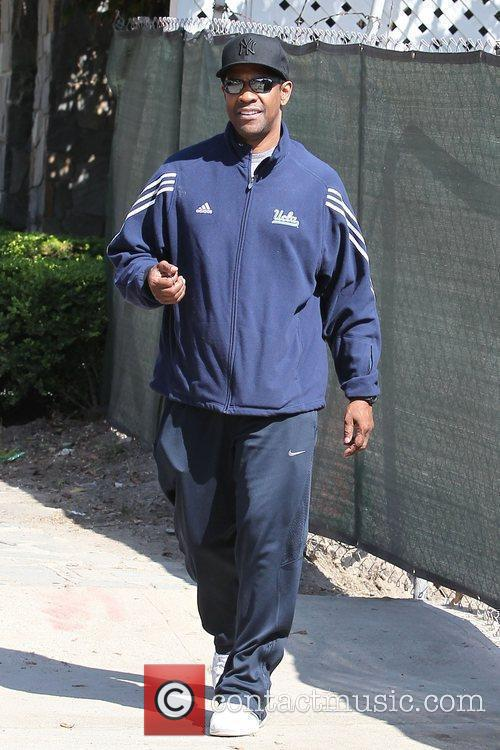 Denzel Washington was spotted out and about in...