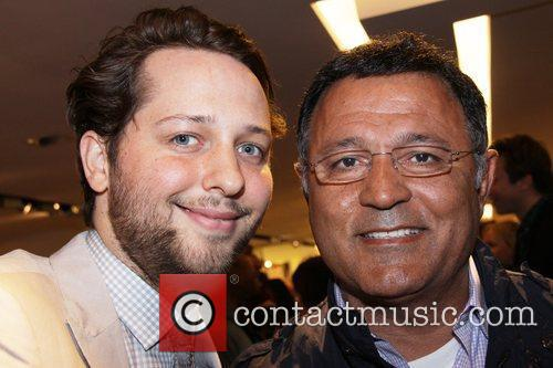 Derek Blasberg and Elie Saab Reception for Derek...